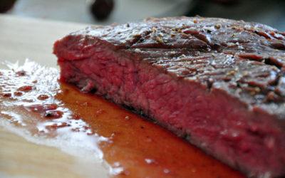 Bison Flank Steak – Sous Vide & gegrillt