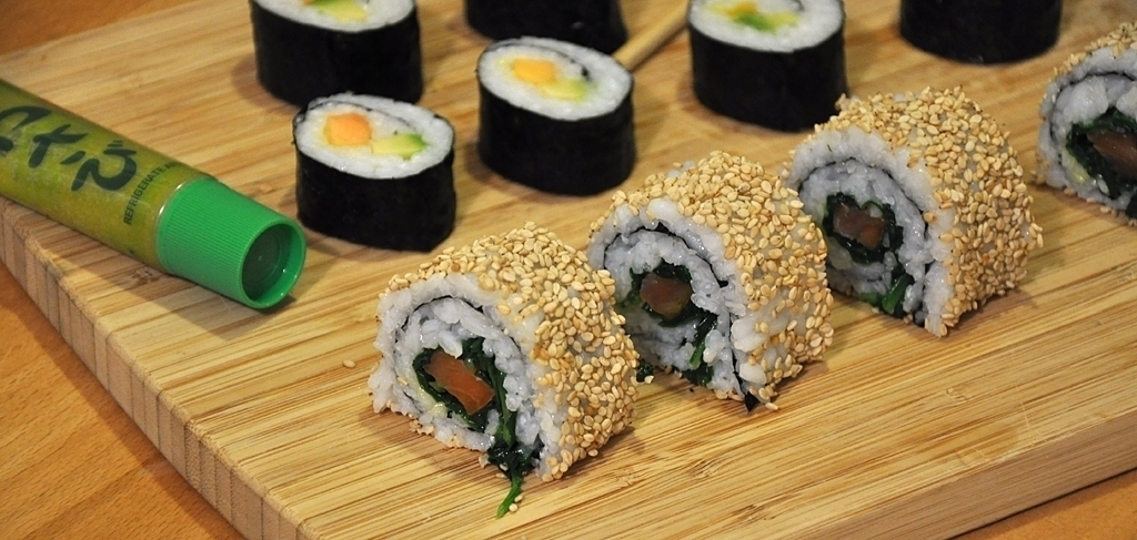 Sushi - Maki und California Roll