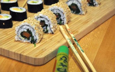 Da bleibt die Küche auch mal kalt: Sushi hausgemacht