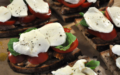 Balsamico-Hähnchenbrust-Sandwich