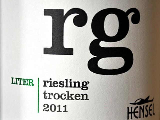Thomas Hensel Gutswein Riesling 2011