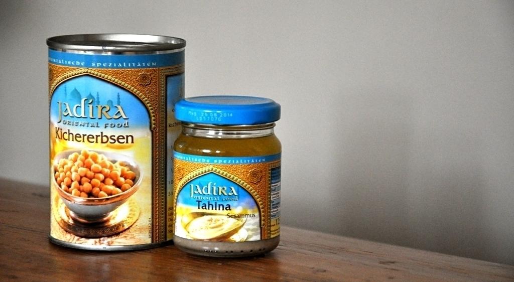 Hummus - Kichererbsen und Tahina