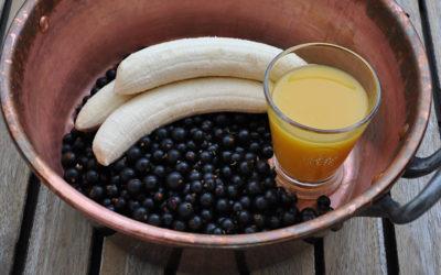 Johannisbeer-Bananen-Konfitüre