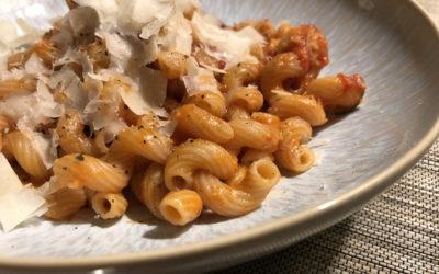 Pasta e Ceci (Pasta mit Kichererbsen)