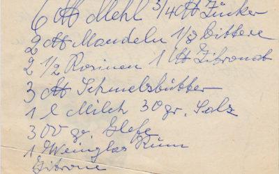 Stollen – klassisch nach Oma Annas Rezept