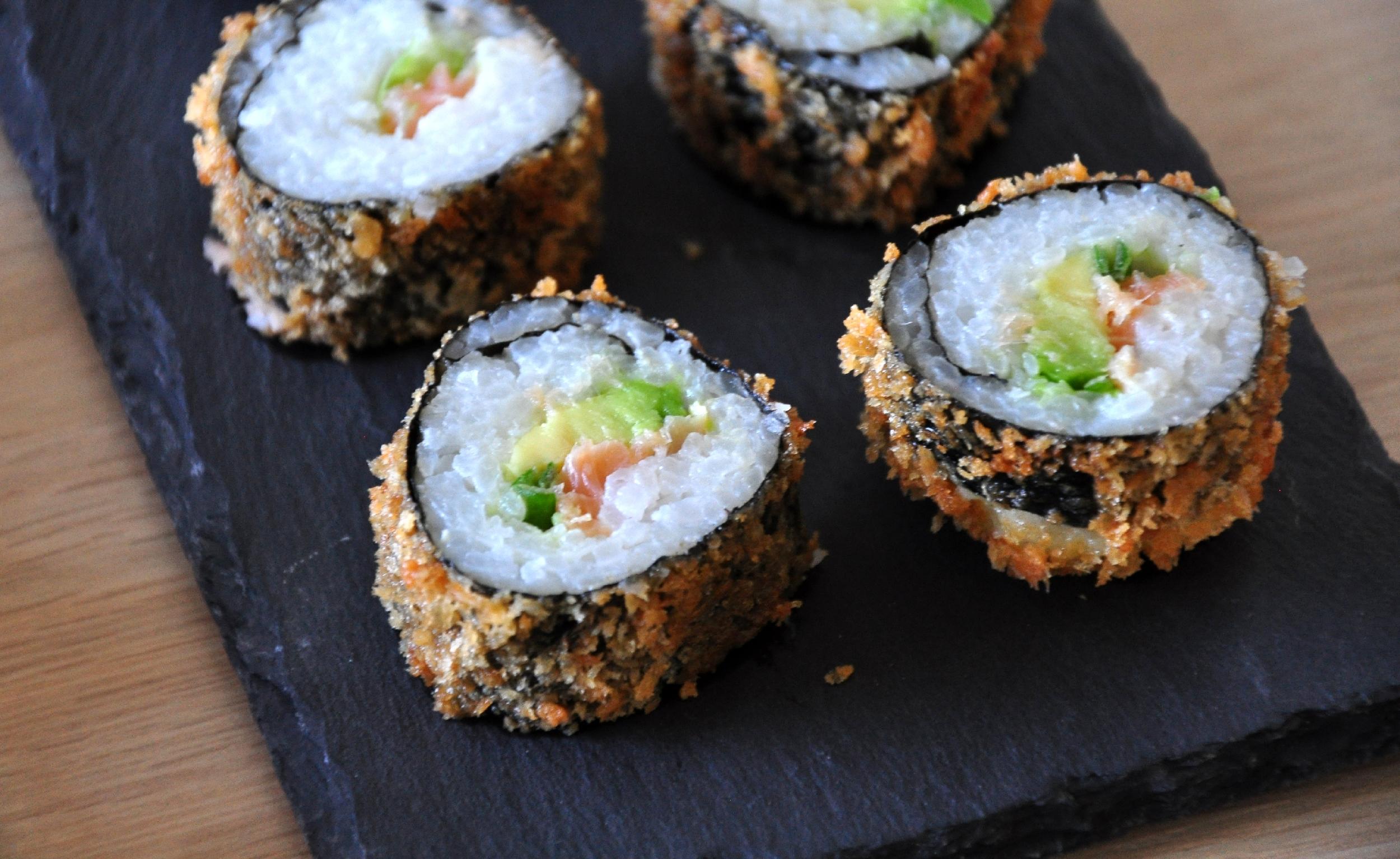 Frittierte Age-Sushi