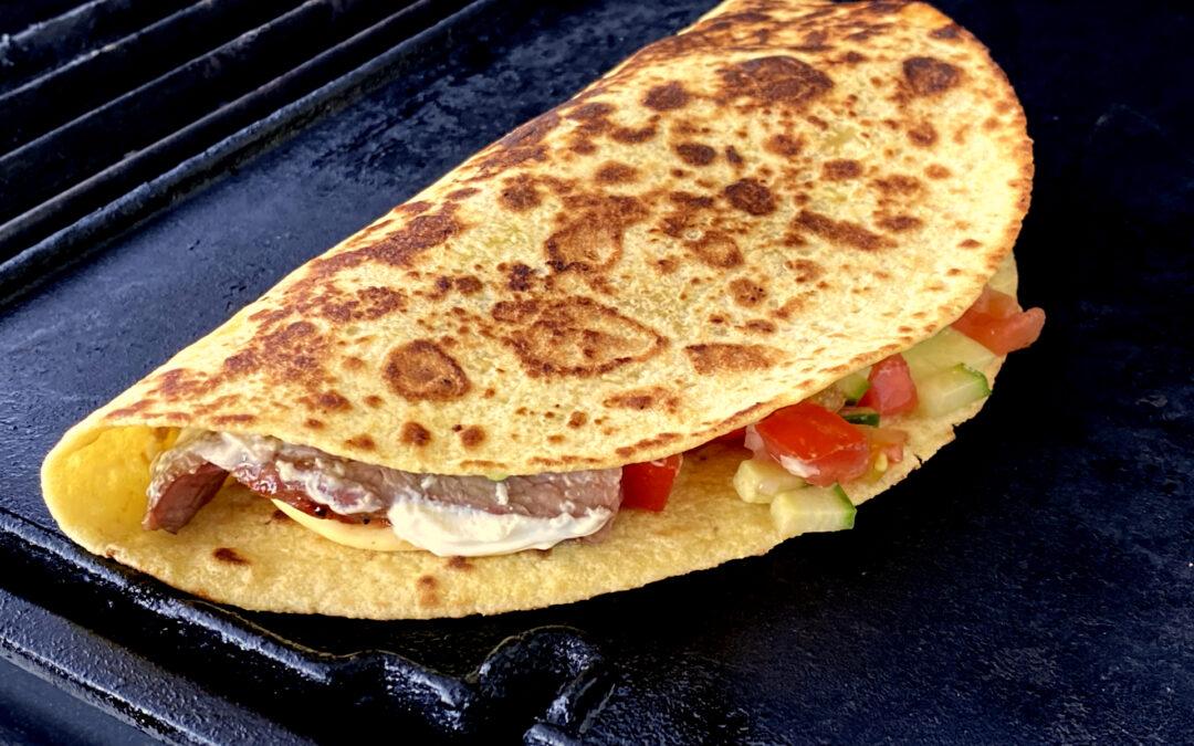 Tortillas mit Flanksteak und Pico de Gallo