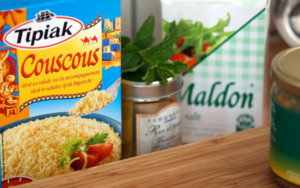 Hühnchen-Tagine mit Mandel-Couscous