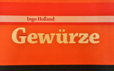 Meine Gewürze – Ingo Holland
