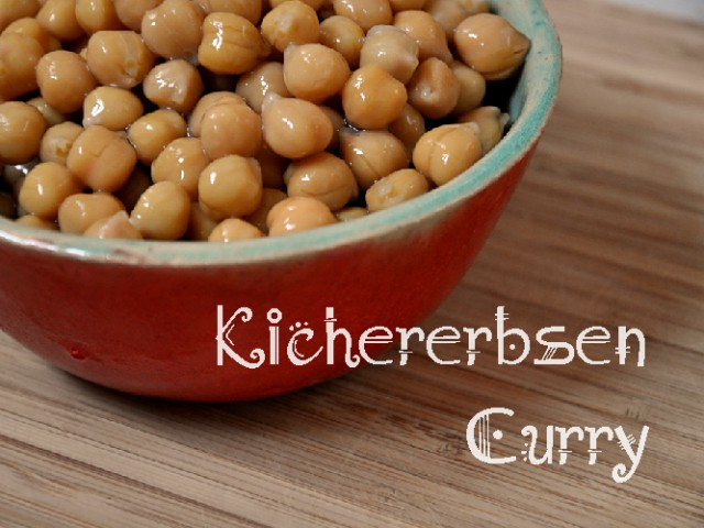 Kichererbsen-Curry mit Huhn & Kokosnuss