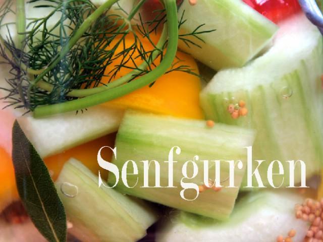 Gurkenzeit – Rezept No. 4: Senfgurken