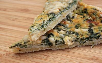 Spinat-Kräuter-Tarte